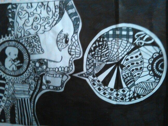 Zentangle type art
