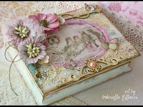 Book Treasure Box Tutorial - YouTube