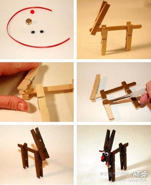 35 best images about clothespin on pinterest reindeer