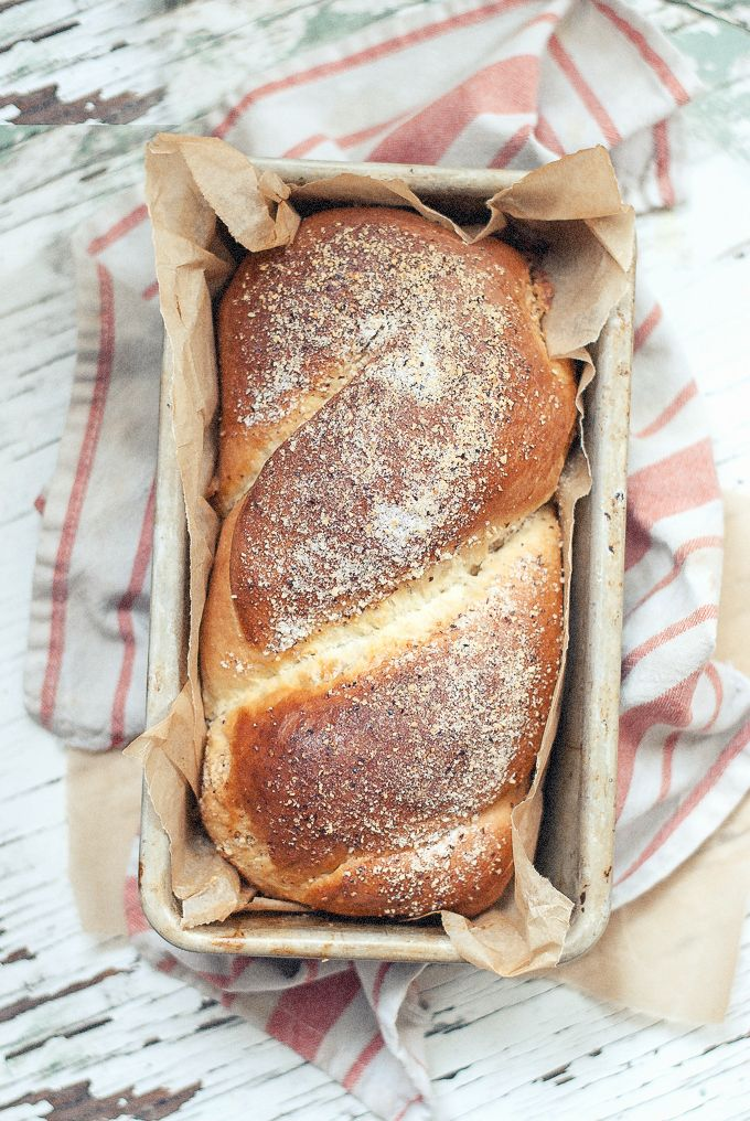 Hazelnut Vanilla Bean Babka via BAKED-the blog.