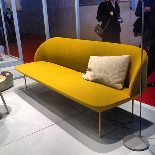 Hot Sofa in Cool Colors from Muuto