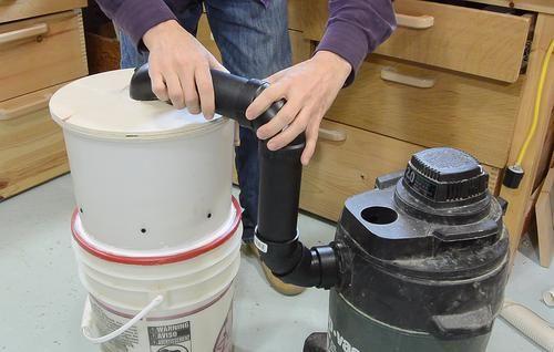 2-bucket Thien-baffle cyclone