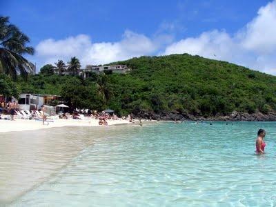Coki Beach, St.Thomas, US Virgin Islands