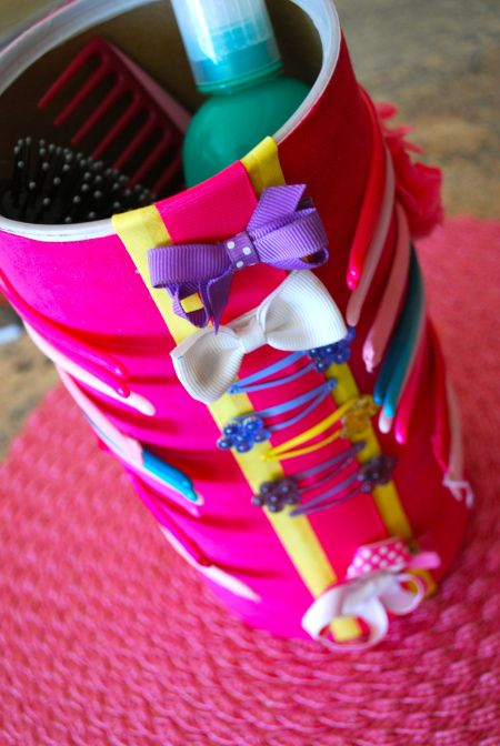 Headband and barrets holder