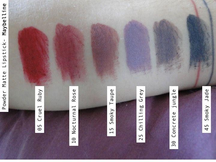 Powder Matte Lipstick De Maybelline Esos Raros Colores Nuevos Maybelline Colores Perfume