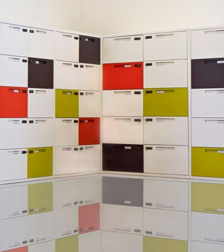 Maine Lockers at Buro Four's offices