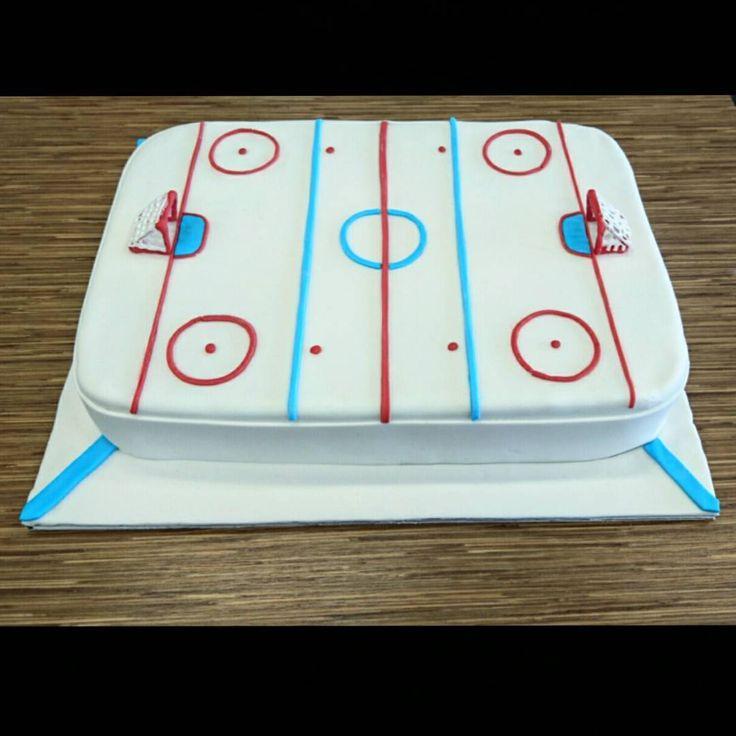 #cake #cakes #icehockey #icehockeycake #fondantcakes #kakku #jääkiekkokakku #jääkiekko