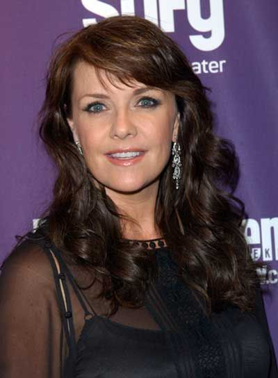 Amanda Tapping | Amanda Tapping, photos, amanda, tapping, long, bangs, curly, romantic ...