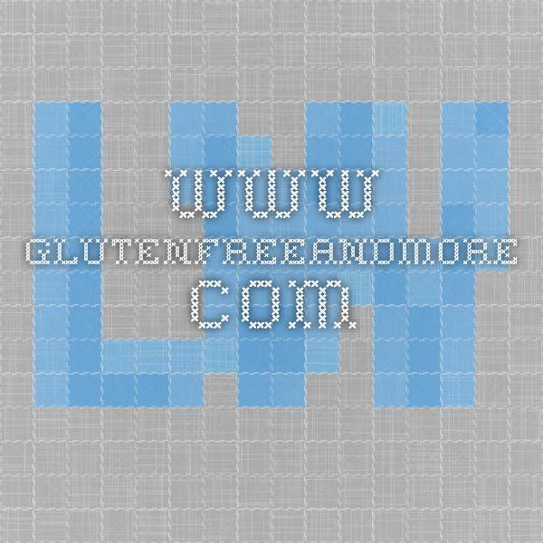Gluten Free Vanilla Cake Glutenfreeandmore Com