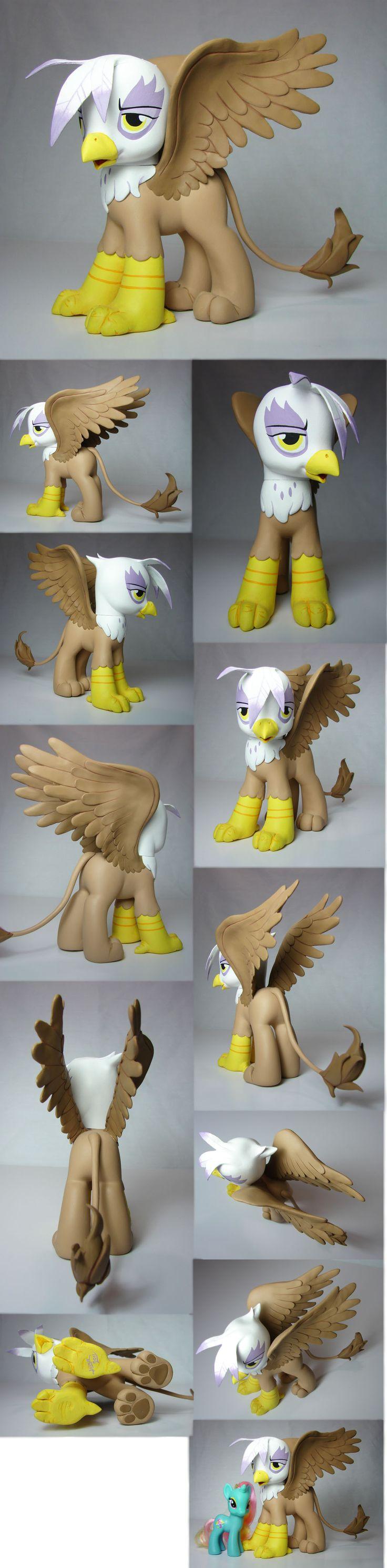 Gilda the Griffon my little pony FIM custom by Woosie.deviantart.com on @deviantART