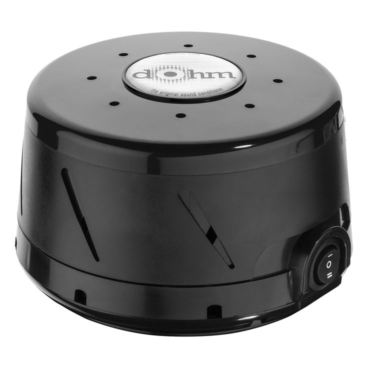 Dohm by Marpac Natural White Noise Sound Machine - Black ...