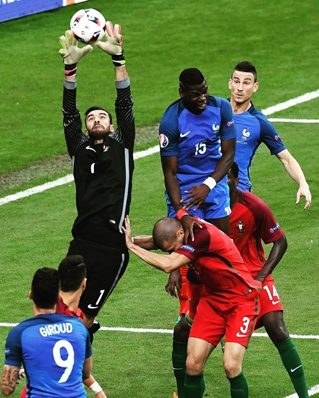 Rui Patricio has been unbeatable in goal. #PORFRA #EURO2016