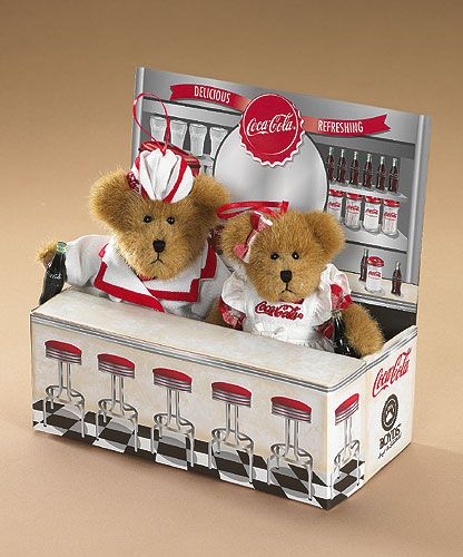 boyds bears coca cola started by Gary Lowenthal