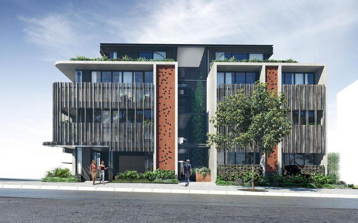 New environmentally sustainable studio apartment building in Bondi