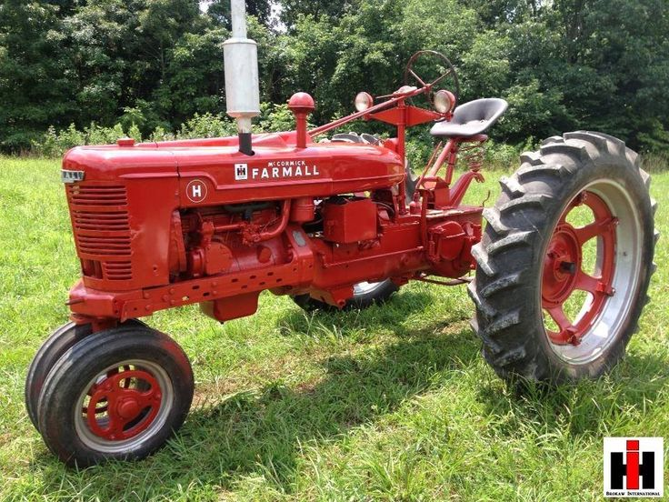 International Harvester Farmall Tractors : Best farmall h images on pinterest