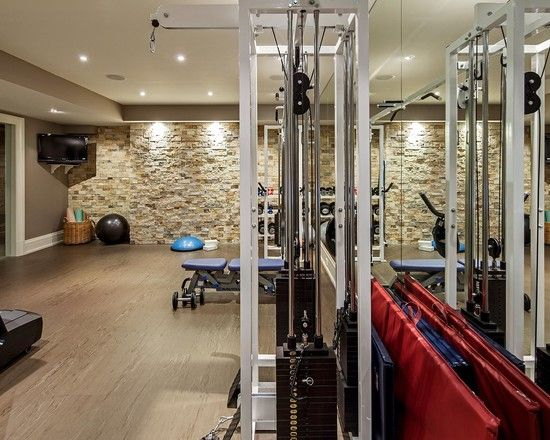 Inspirational modern home gym design ideas interior
