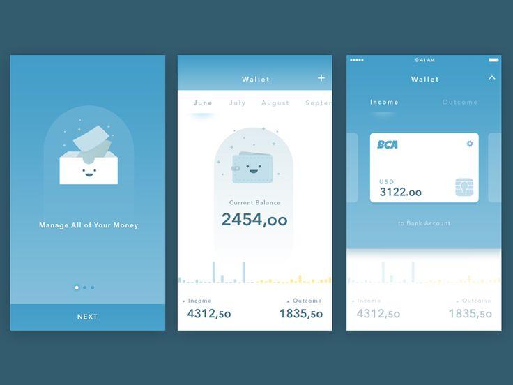 Simple Wallet App