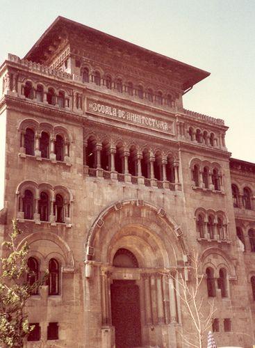 School of Architecture, Bucharest, Romania