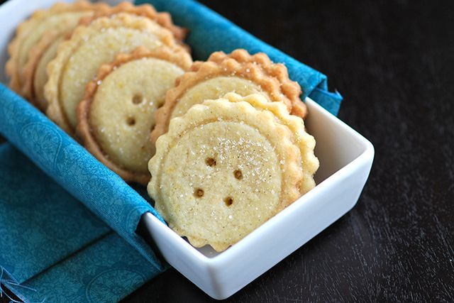 Easy Butter Cookies Recipe    Tried it today with the girls - came out great.