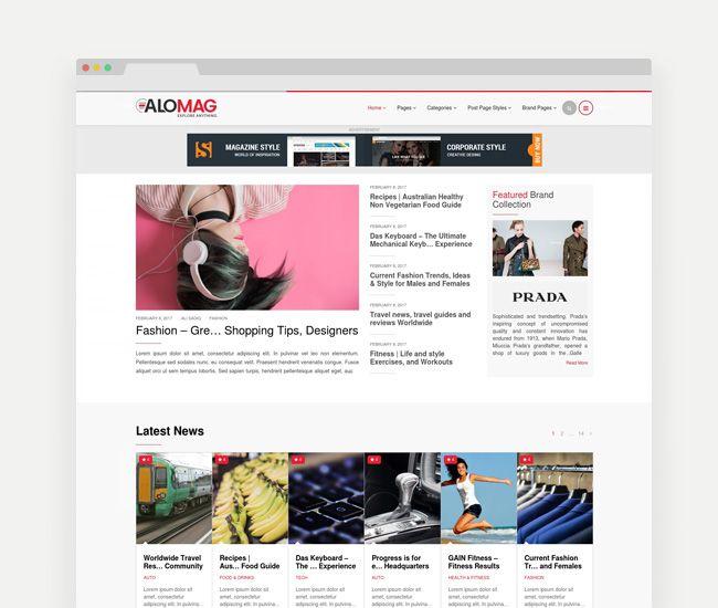 12 mejores imágenes de WordPress Themes en Pinterest   Plantillas ...