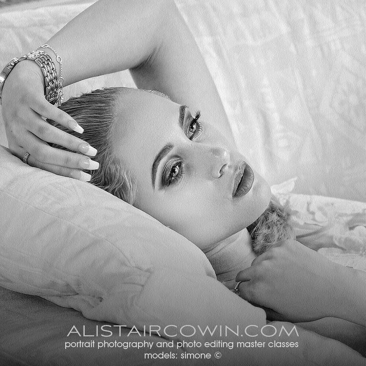 Photographed for Alistair Cowin's Beauty Books and Editorial feature.  Model: Simone Stocks  MUA: Hannah Field