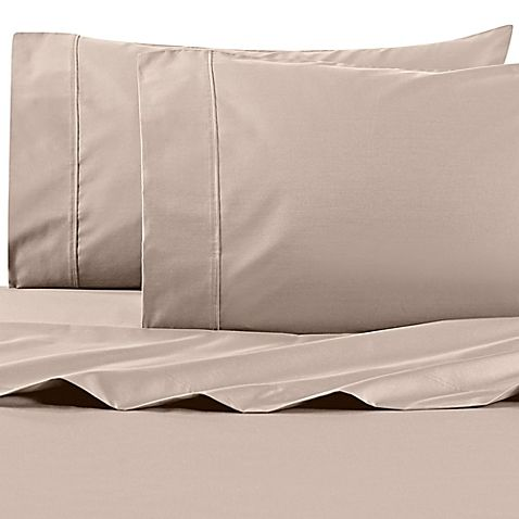 Wamsutta® 625-Thread Count PimaCott® Twin Sheet Set in White  highly rated at BedBathBeyond. Genuine Pima