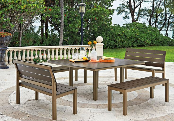 Street impressions is an aluminum patio furniture company Outdoor furniture okc