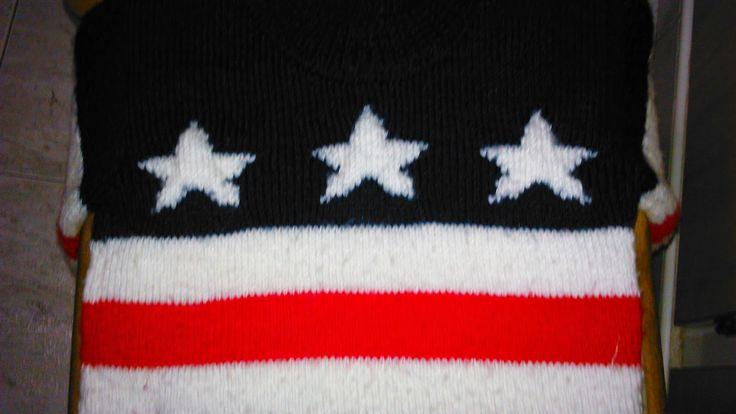 mi mama también teje: Jersey bandera EEUU