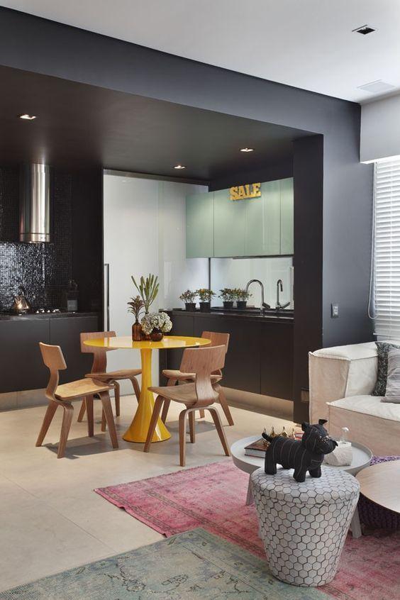 cozinha preta