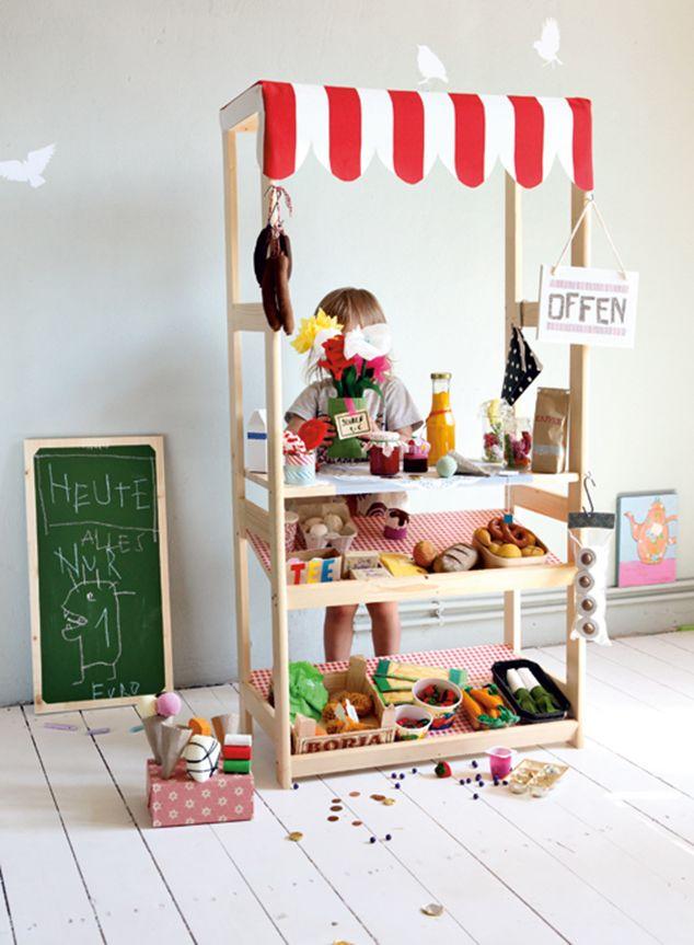 Imprimibles gratis para una tienda de comestibles de juguete