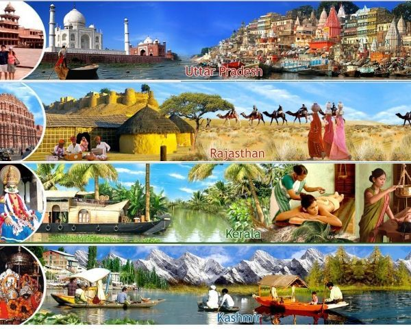 India luxury tours, classic ours, spiritual tours, wildlife tours, adventure tours and several other tours are especially designed to discover the incredible India.
