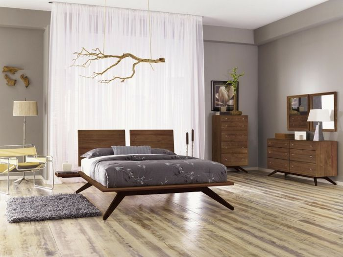 Die besten 25+ weißen Vorhänge im Schlafzimmer Ideen auf Pinterest
