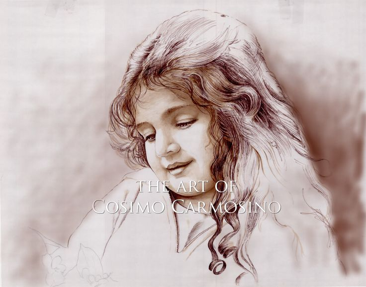 Fine Arts_Drawing_Painting_Nostalgia of A Young Girl