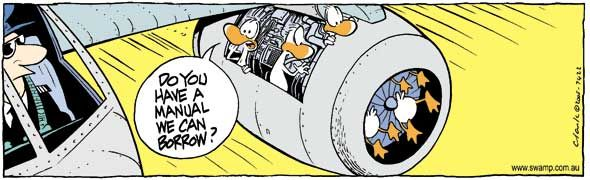 Some not so routine maintenance! #bird #strike http://www.swamp.com.au/search.php?s=7422