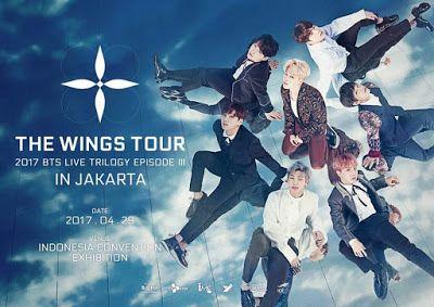 Kisah Anak Kost (KIKOS): Aku Siap Nonton The Wings Tour In Jakarta: BTS Liv...
