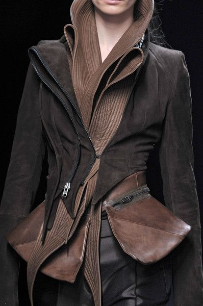 Haider Ackermann at Paris Fall 2010 (Details)