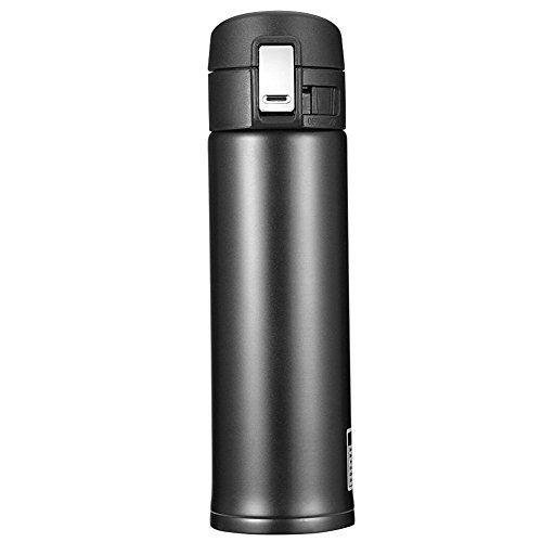 Newdora 500ml Bouteille isotherme, Tasse thermique, mug isotherme, tasse café, Bouteille de thé, Thermos de thé, Mug isotherme d'acier…