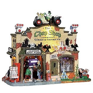 Lemax Spooky Town Collection -The Chop Shop Garage & Salvage Co.