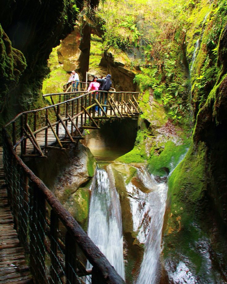 Grotte del Caglieron-Italy