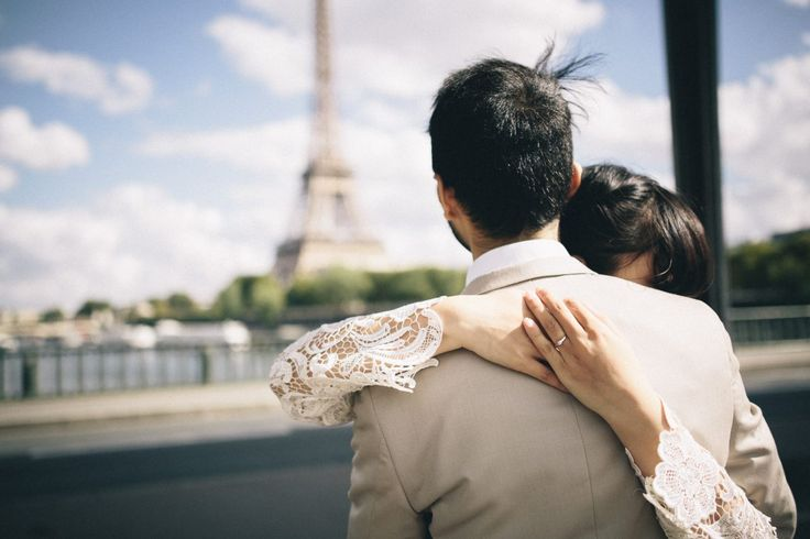 Paris Wedding Photography |Be with me - Through The Glass Photography