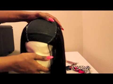 PLEASE READ FOR ALL ITEMS USED IN THIS VIDEO: Part 1: Making My Bobbi Boss Indi Remi Wig with a A Closure No Sewing! Where to find the Closure: http://elevat...
