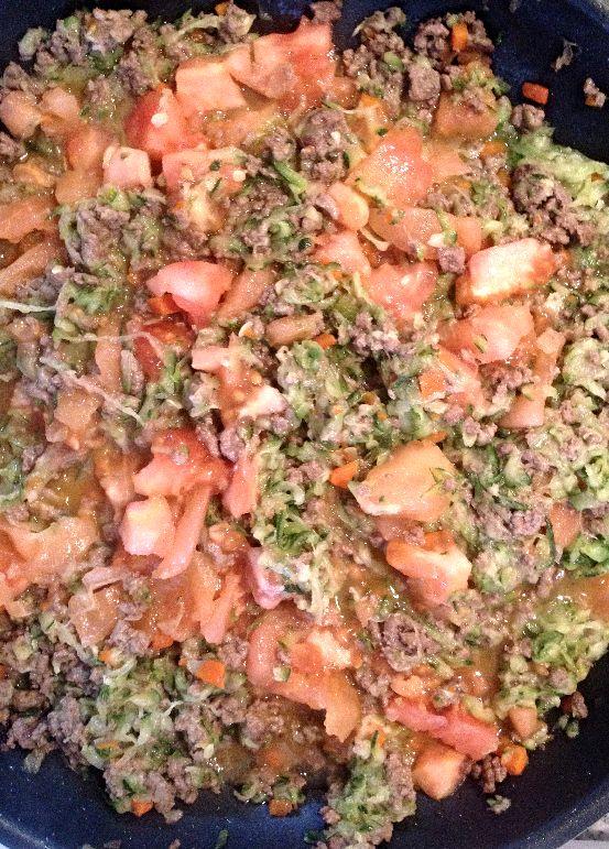 Deliciosa Salsa Boloñesa, con muchas verduras para los niños. www.lavidaesdulce.net