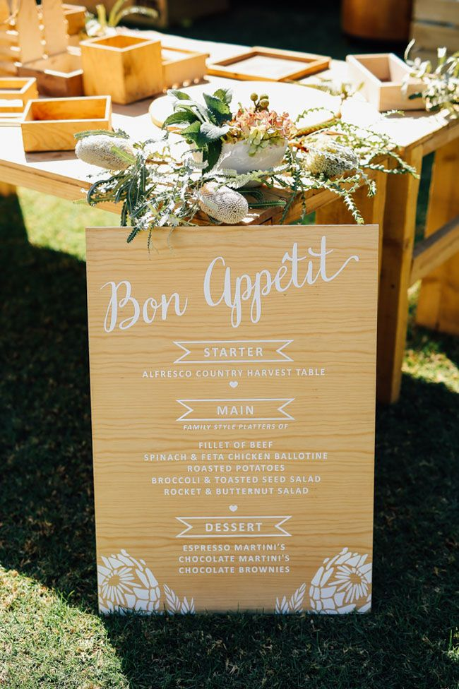 Laid-back Al Fresco Wedding | SouthBound Bride…