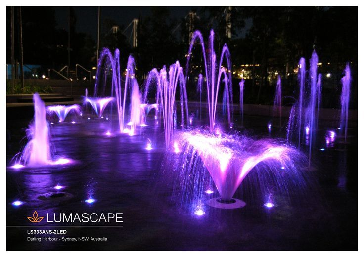 A beautiful scene created with Lumascape's underwater lighting products.  Available through www.stllighting.com