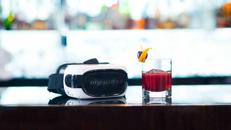 Dalmore whisky VR experience in the Lobby Bar at One Aldwych hotel in London