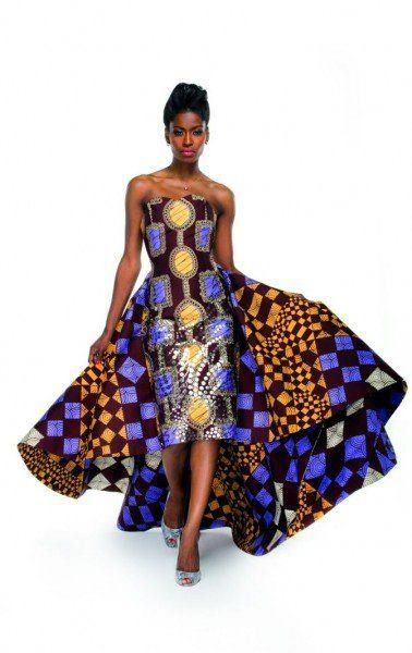 Every step must make a bold statement when you wear Africa