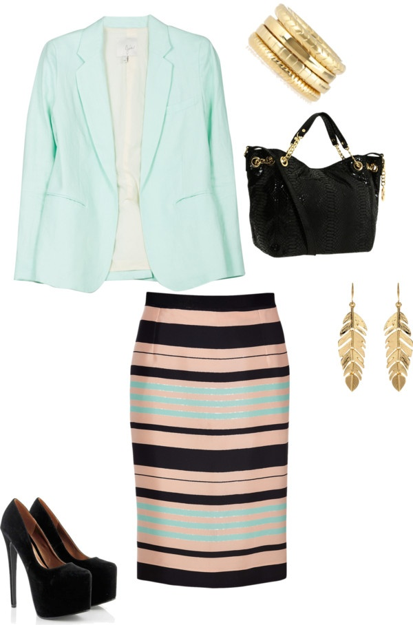 """Church attire"" by jesslew-jl on Polyvore"