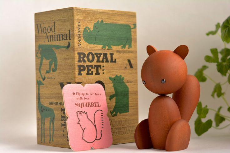Vintage Royal Pet / SQUIRREL with Original Box by MinimalismOnline