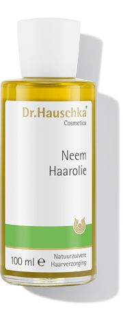 Dr Hauschka Haarolie (voorheen Neem Haarolie) 100 ml - Dr.Hauschka Haarolie is het ideale middel tegen droog, breekbaar of dof haar en irritatie van de hoofdhuid. Dr Hauschka Neem Haarolie: * voor vitaliteit en souplesse * ondersteunt de doorbloeding van de hoofdhuid * beschermt op natuurlijke wijze tegen invloeden van buitenaf * met de plantaardige oli�n van neembladeren, kamillebloesem, rozemarijn en tarwekiem