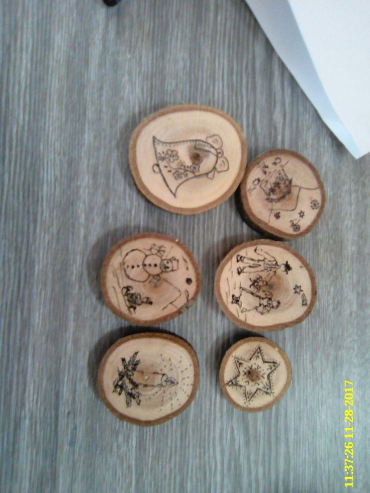 kresba na dřevo